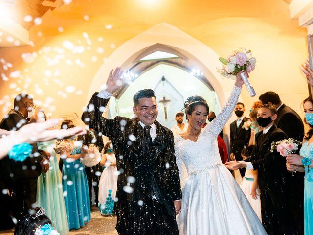 O casamento de Damião e Halayne em Diadema, São Paulo 1