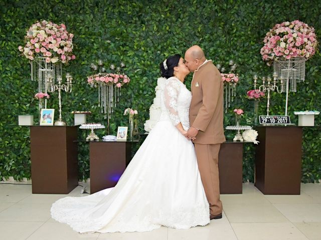 O casamento de Silvana e Gilberto