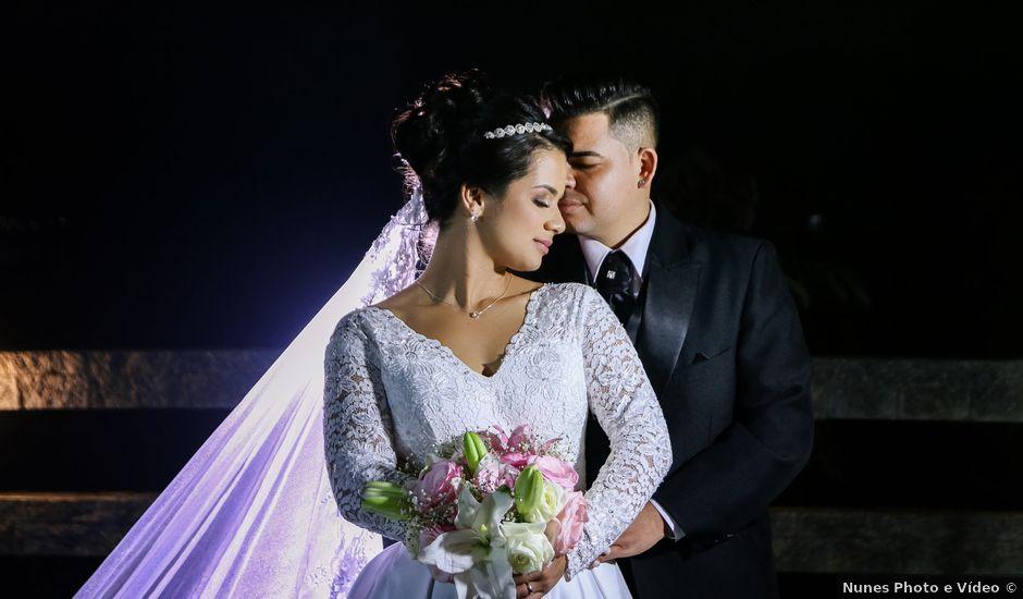 O casamento de Damião e Halayne em Diadema, São Paulo