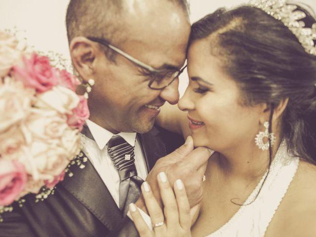 O casamento de Lucia e Valter