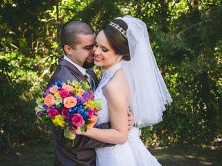 O casamento de Paula e Vitor