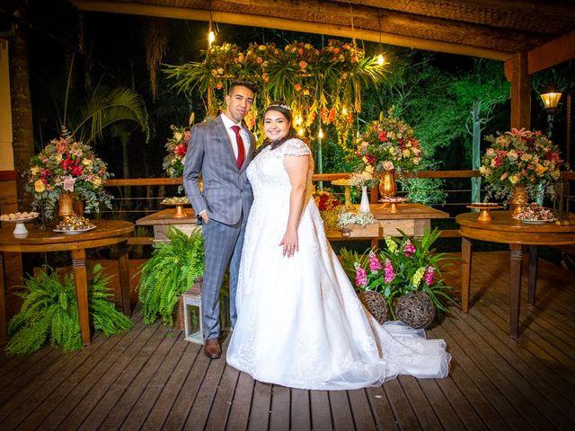 O casamento de Jonas e Bruna