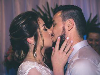 O casamento de Bianca e Vanderson