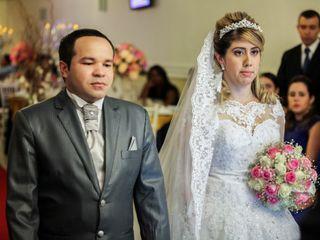 O casamento de Andressa e Eliabe