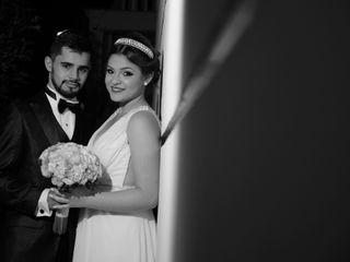 O casamento de Mel e Jonathan
