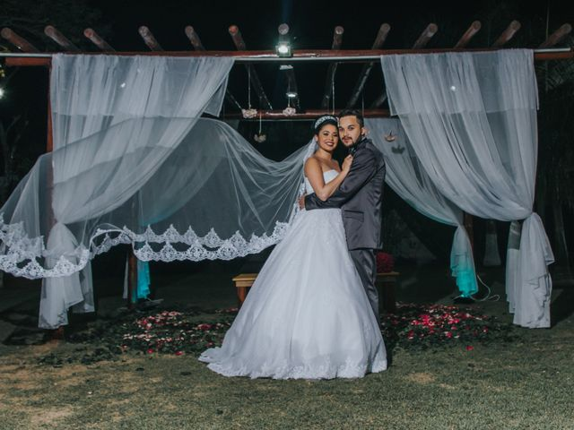 O casamento de Stephanie e Hiudy