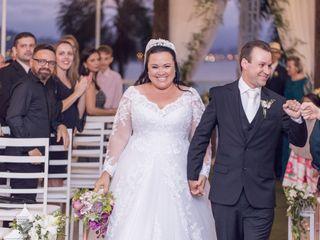 O casamento de Flavia Ribeiro  e Fernando luis