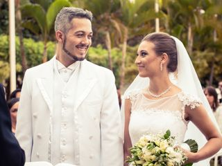 O casamento de Laise e Glauber