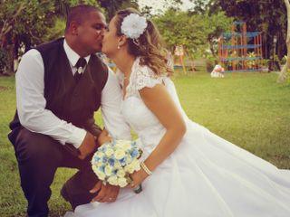 O casamento de Vander e Paula