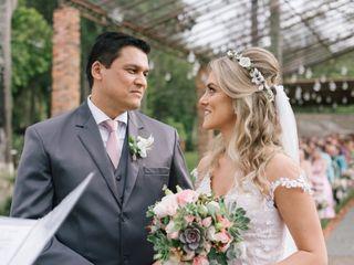 O casamento de Karin e Edson