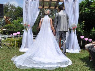 O casamento de Bianca e Leandro