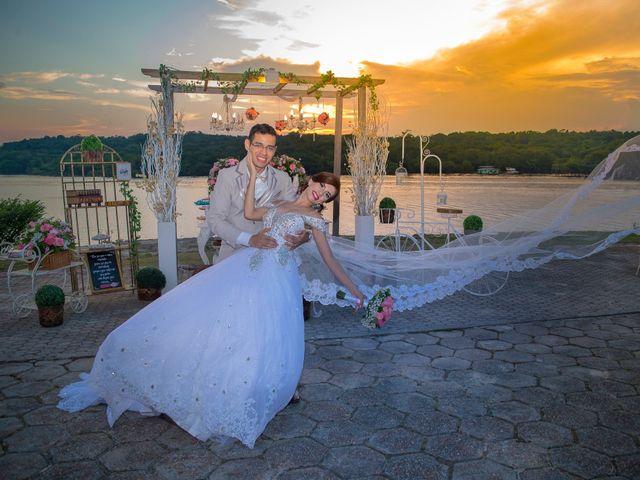 O casamento de Ariane e Joabe