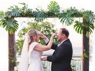 O casamento de Flavia e Roberto
