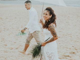 O casamento de Franciele Figueira  e Brandon Gelatti