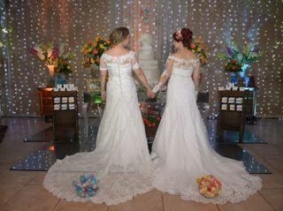 O casamento de Mariana  e Adriana