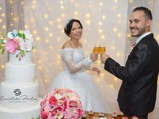 O casamento de Beane e Lucas