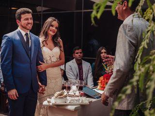 O casamento de Wanderson e Brindilla