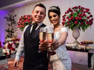 O casamento de Lorena  e Thalys 1