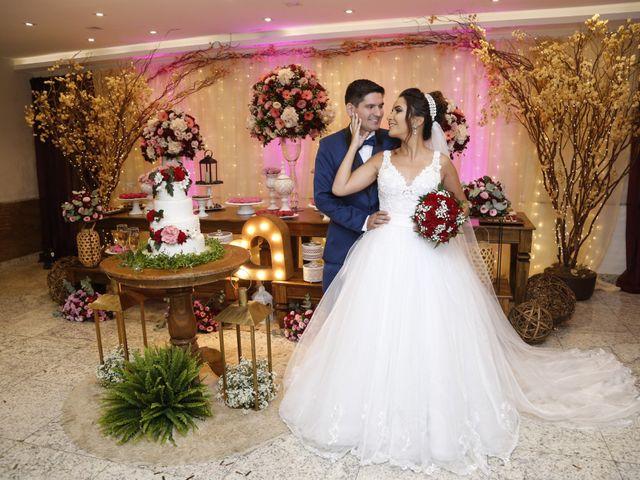 O casamento de Graziela e Leonardo