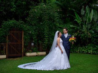 O casamento de Agatha  e Samuel