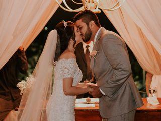 O casamento de Mirelly e Alex