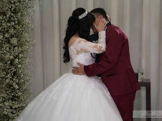 O casamento de Stéphanie e Arlen