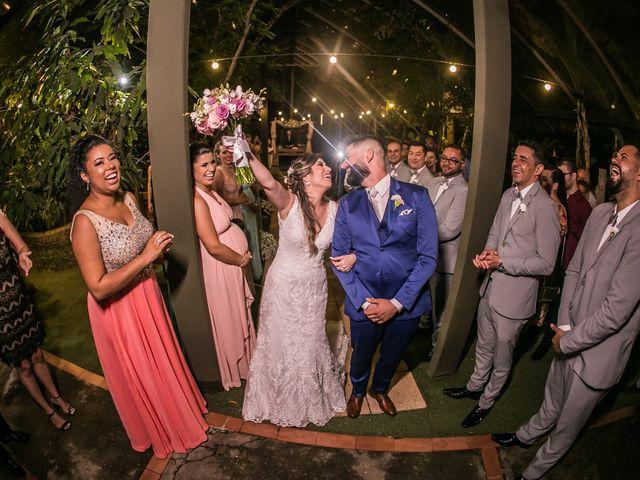 O casamento de Aline e Claudio
