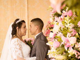 O casamento de Geovana e Marcos