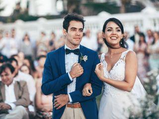 O casamento de Natháli e Tayro