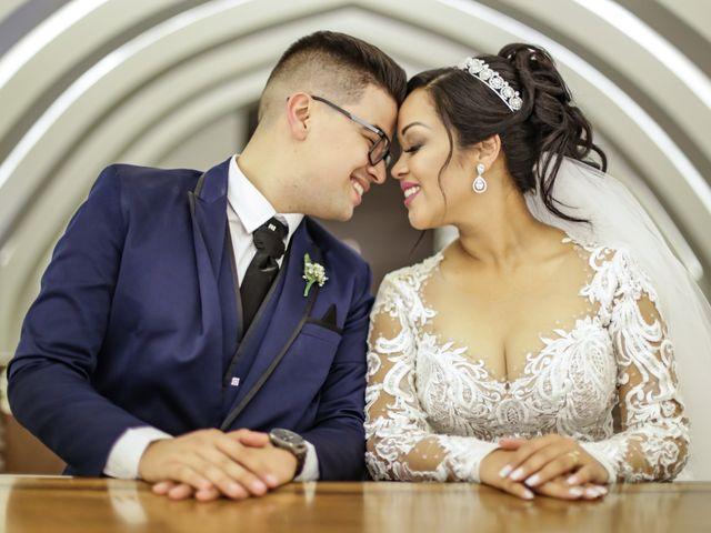 O casamento de Viviane e Gustavo