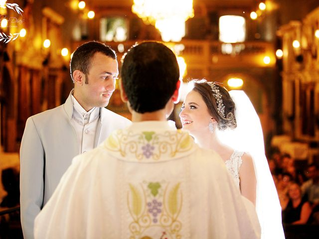 O casamento de Viviane e Leonardo