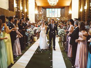 O casamento de Aline e Willian