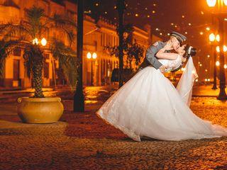 O casamento de Marie e Thiago