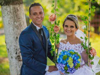 O casamento de Aline e Everton