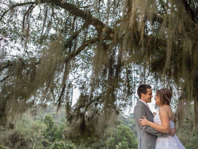O casamento de Camila e Yves