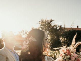 O casamento de Andrea e Neto