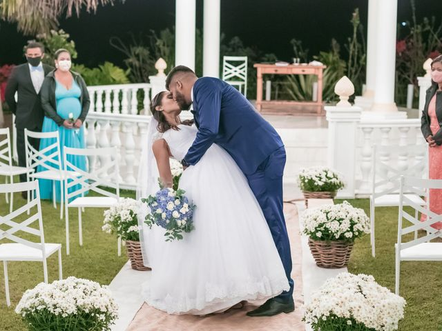 O casamento de Fabiana e Isac