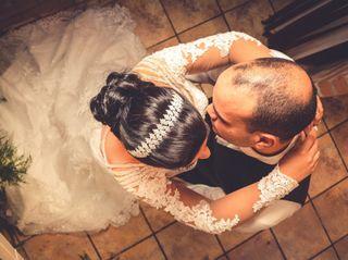 O casamento de Flavia e André