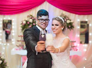 O casamento de Evellyn e João Victor