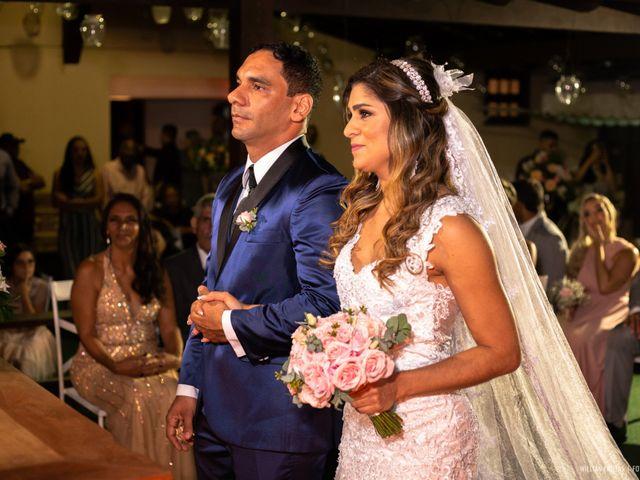 O casamento de Júnior e Fabíola