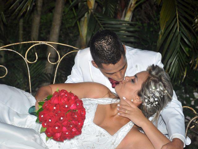 O casamento de Caroline e Carlos