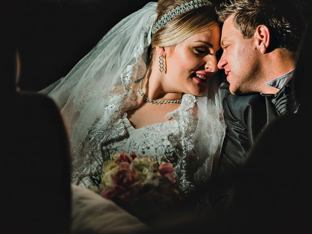 O casamento de Jaqueline e Chrystian