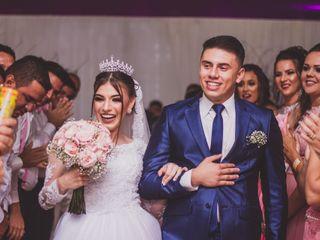 O casamento de Sabrina e Kelvin
