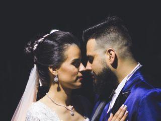 O casamento de Milena e André