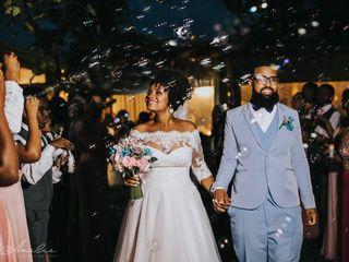 O casamento de Roberta e Juninho