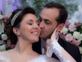 O casamento de Francine e Daniel