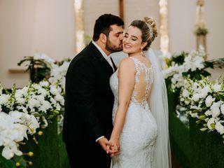 O casamento de Glaucia e Allan
