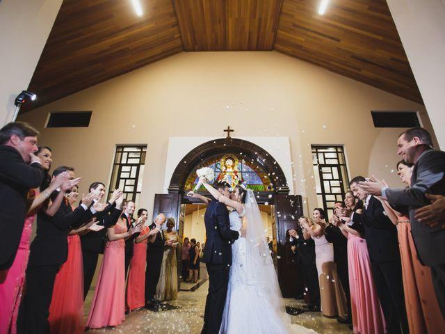 O casamento de Ariane e Alisson