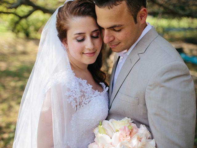 O casamento de Camila e Rodigo