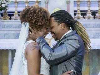 O casamento de Luanna  e Wagner 1